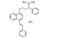 Dapoxetine 4-Phenylethylene Impurity HCl
