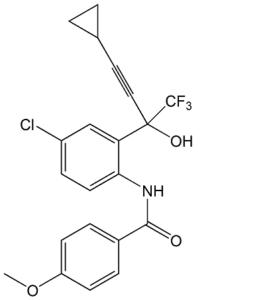 Efavirenz Benzoyl Amino Alcohol