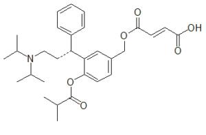 Fesoterodine Fumarate Ester