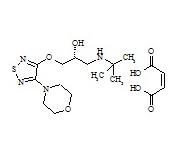(R)-Timolol Maleate (Timolol Impurity A Maleate)