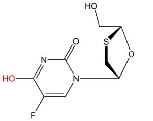 Emtricitabine 4-Hydroxy Analog
