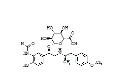 Formoterol Benzylic Glucuronide (mixture of diastereomers)