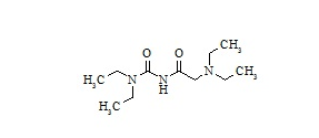 Lidocaine Impurity 1 (2-(Diethylamino)-N-(Diethylaminoyl)acetamide)