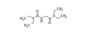 Lidocaine Impurity 2 (2-[(Diethylcarbamoyl)amino]-N, N-Diethylacetamide)