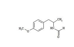 N-(2-p-Methoxyphenyl-1-methyl)ethylformamide