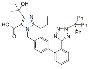 Olmesartan N2-Trityl Impurity