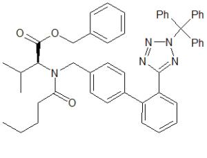 Valsartan Benzyl Ester N2-Trityl Analog