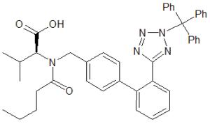 Valsartan N2-Trityl Impurity