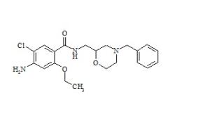 Cisapride Related Compound (Mosapride Impurity E) (4-Amino-N-((4-benzyl-2-morpholinyl)-methyl)-5-chloro-2-ethoxybenzamid