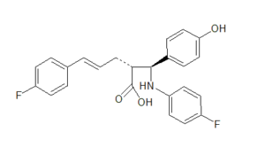 Ezetimibe Open-Ring Anhydro Acid