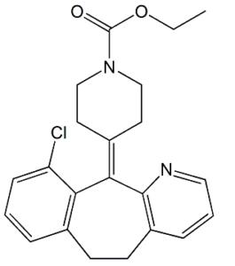 Loratadine 8-Dechloro-10-Chloro Impurity
