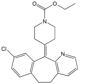 Loratadine 8-Dechloro-9-Chloro Impurity