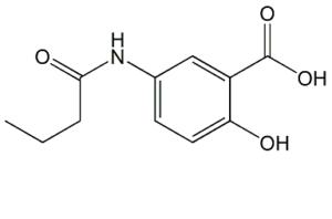 Mesalazine N-Butyryl Impurity