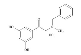 Terbutaline Related Compound (2-(Benzylmethylamino)-3′,5′-dihydroxyacetophenone HCl)