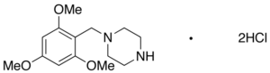 1-(2,4,6-Trimethoxybenzyl)piperazine Dihydrochloride