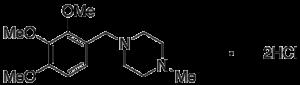 N-Methyl Trimetazidine Dihydrochloride
