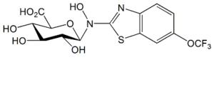 Riluzole N-Hydroxy N-β-D-Glucuronide