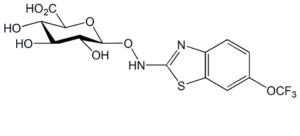 Riluzole N-Hydroxy O-β-D-Glucuronide