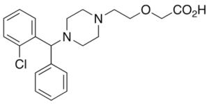 LEVOCETIRIZINE IMPURITY C (FREE BASE)