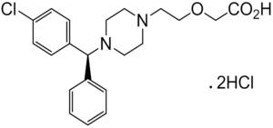 (S)-CETIRIZINE DIHYDROCHLORIDE