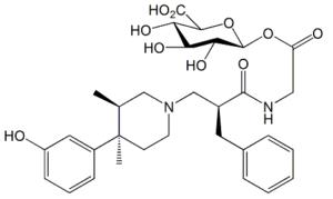 Alvimopan Acyl-β-D-Glucuronide