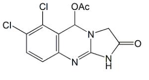 Anagrelide 5-Acetoxy Impurity