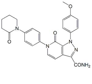 Apixaban 4,5-Dehydro Impurity