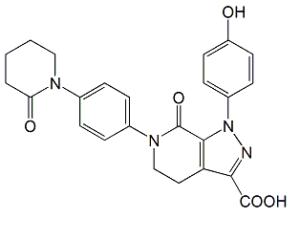 Apixaban Carboxylic Acid O-Desmethyl Impurity