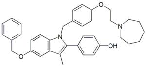 Bazedoxifene 5-O-Benzyl Impurity