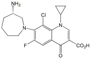 Besifloxacin (3S)-Isomer