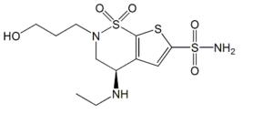 Brinzolamide O-Desmethyl Impurity