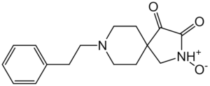 8-(2-PHENYLETHYL)-1-OXO-3,8-DIAZASPIRO{4.5}DECAN-2-ONE N-OXIDE