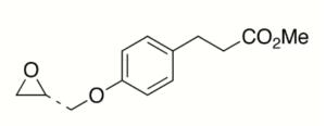 4-[(2R)-Oxiranylmethoxy]benzenepropanoic Acid Methyl Ester