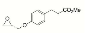 4-[(2S)-Oxiranylmethoxy]benzenepropanoic Acid Methyl Ester